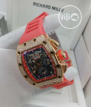 High Quality RICHARD MILLE Rubber Strap   Watches for sale in Lagos State, Magodo