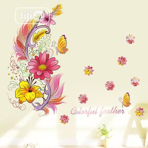 Feathers Decorative Wall Sticker | Home Accessories for sale in Lagos State, Alimosho