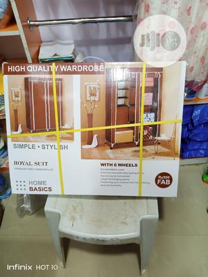Adult Brown Wardrobe | Furniture for sale in Lagos State, Ifako-Ijaiye