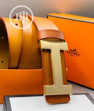 Hermes Leather Belt For Men's | Clothing Accessories for sale in Lagos State, Lagos Island (Eko)