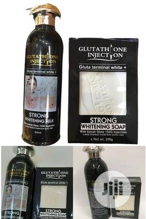 Gluthatione Injection T.White Strong Whitening Cream & Soap | Skin Care for sale in Lagos State, Apapa