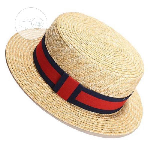 Women Sun Hat Sunmmer Beach New Flat Top Straw Hat Men Boate