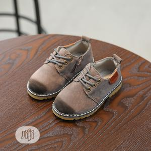 Gray Suede Shoe | Children's Shoes for sale in Lagos State, Ikorodu