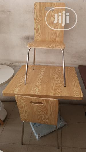 Super Quality Wooden Dinning/Restaurant Table With 4 Chairs   Furniture for sale in Abuja (FCT) State, Wuse 2
