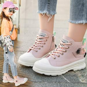 Girls Pink High Top Sneakers | Children's Shoes for sale in Lagos State, Ikorodu