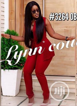 Quality Chic Haute Red Trouser Suit(Restocked)   Clothing for sale in Lagos State, Ikeja