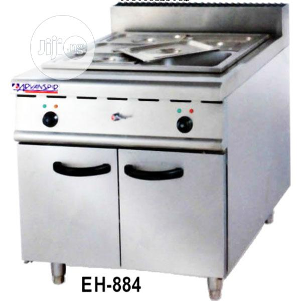 Archive: Advanspid Industrial Electric Bain Marie + Cabinet