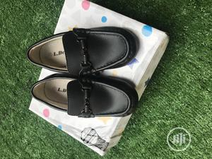 Kids Moccasins Buckle Penny Loafers-Black | Children's Shoes for sale in Oyo State, Ibadan