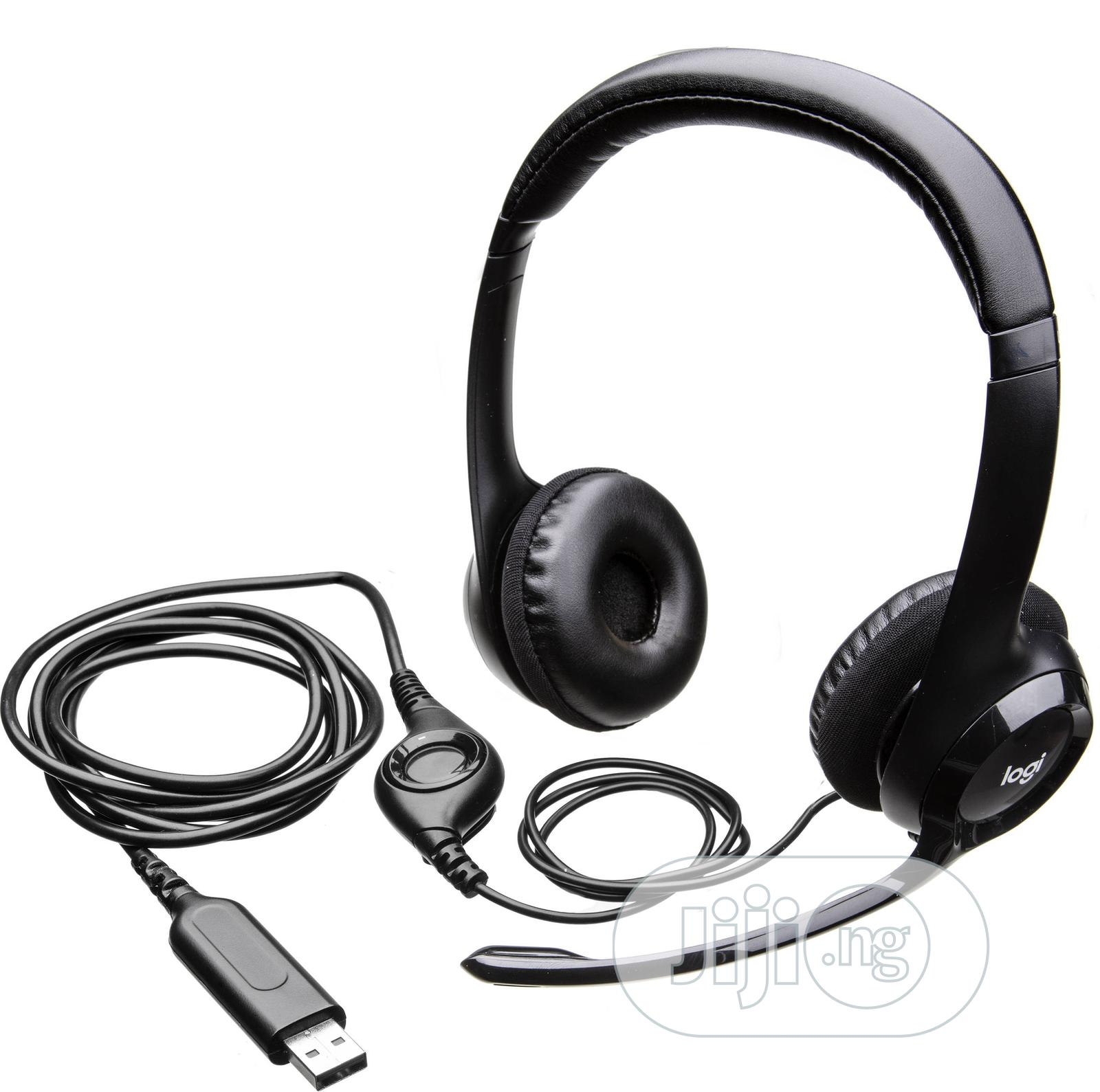 Archive: Logitech H390 USB Headset
