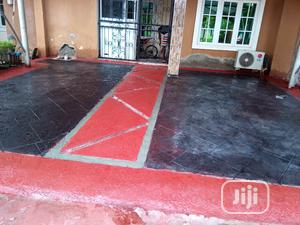 Installation Of Concrete Stamped Floor   Landscaping & Gardening Services for sale in Lagos State, Ajah