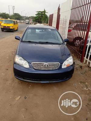 Toyota Corolla 2003 Sedan Automatic Blue | Cars for sale in Lagos State, Isolo