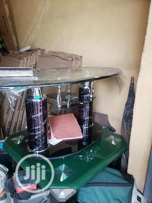High Quality Side Table With Thick 16mm Tempered Glass | Furniture for sale in Lagos State, Surulere