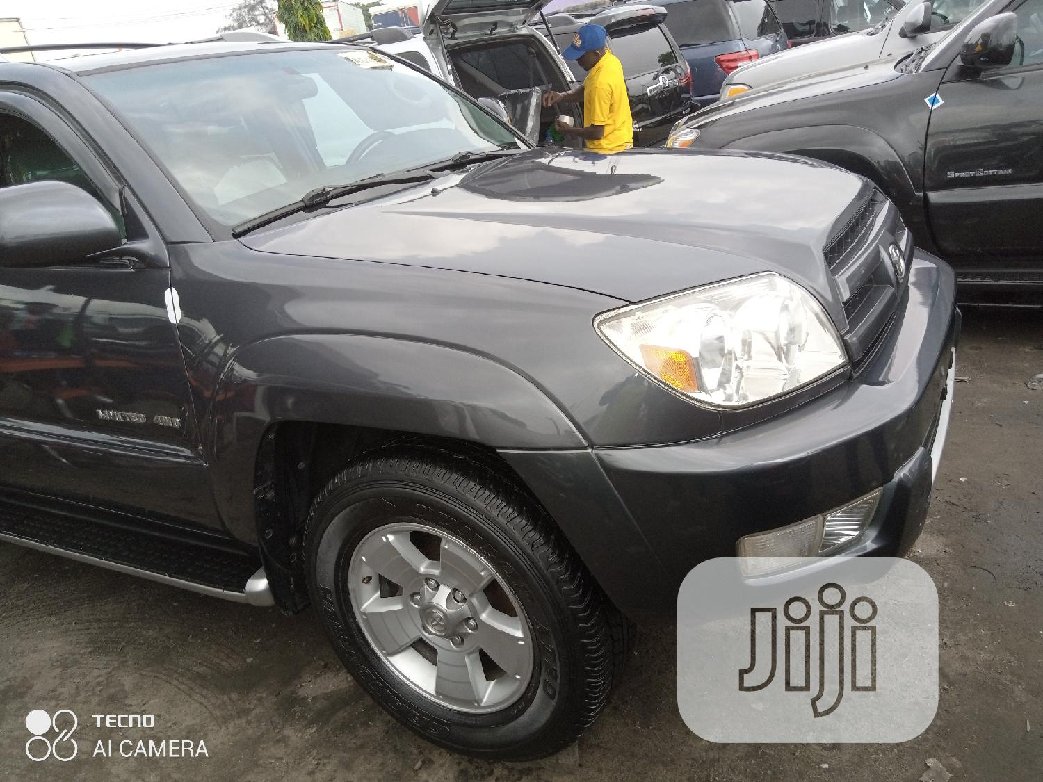 Toyota 4-Runner 2005 Limited V6 4x4 Gray   Cars for sale in Apapa, Lagos State, Nigeria
