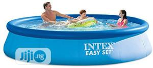 Intex 10ft Side To Side Swimming Pool And 5ft High   Sports Equipment for sale in Lagos State, Lagos Island (Eko)
