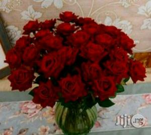 Flowers Artificial Red Rose Flower Bunch Interior Decor | Home Accessories for sale in Lagos State, Ajah