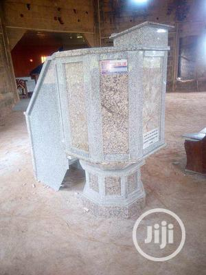 Marble Pulpit Stand   Building Materials for sale in Lagos State, Agege