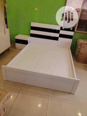 Bed Frame, Dressing Mirror and Two Night Stand | Furniture for sale in Lagos State, Ojo