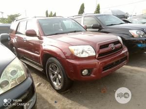 Toyota 4-Runner 2007 Limited 4x4 V6 Red   Cars for sale in Lagos State, Apapa