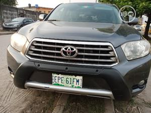 Toyota Highlander 2009 Limited 4x4 Gray | Cars for sale in Lagos State, Amuwo-Odofin