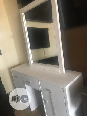 White Padded Dressing Table   Furniture for sale in Abuja (FCT) State, Apo District