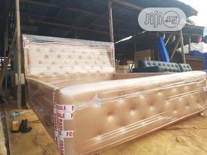 Modern 6by 6 Bed FRAME | Furniture for sale in Lagos State, Magodo