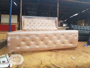 Modern 6 By 6 Bed Frame | Furniture for sale in Lagos State, Victoria Island