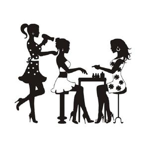 Hair/Nail Salon DIY Wall Sticker | Home Accessories for sale in Lagos State, Magodo