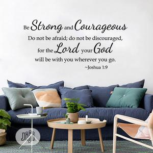 Bible Words Quotes DIY Wall Sticker | Home Accessories for sale in Lagos State, Magodo