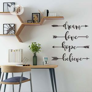 Decals DIY QUOTES Wall Sticker Decor | Home Accessories for sale in Lagos State, Magodo