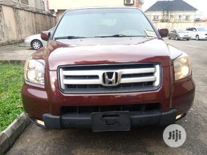 Honda Pilot 2007 EX-L 4x2 (3.5L 6cyl 5A) Red   Cars for sale in Lagos State, Ojodu