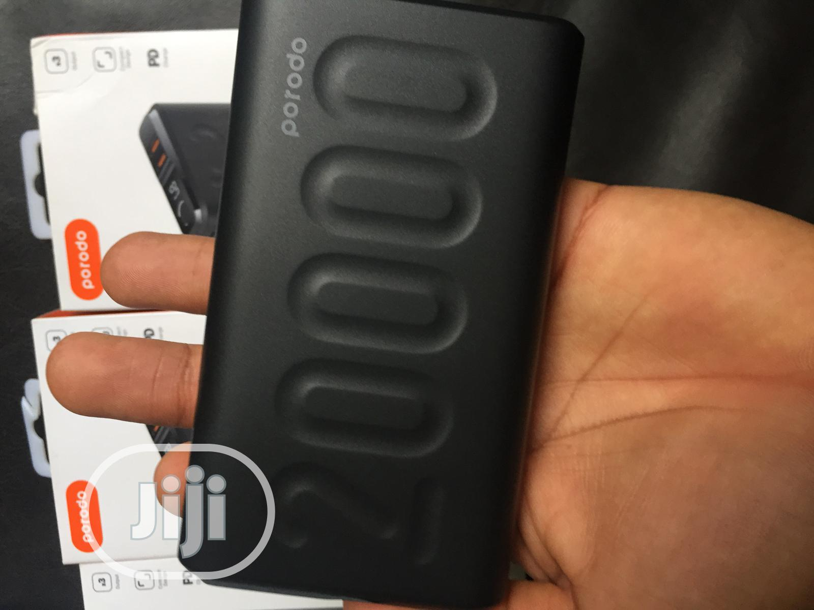 Porodo 20,000 Mah Power Bank | Accessories for Mobile Phones & Tablets for sale in Obio-Akpor, Rivers State, Nigeria