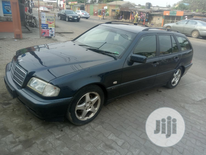 Mercedes-Benz C240 2002 Blue   Cars for sale in Amuwo-Odofin, Lagos State, Nigeria