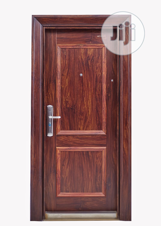 Heavy Duty Steel Security Door