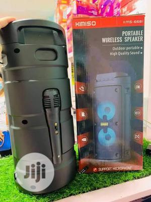 Kimiso Kms-6683 Wireless Speaker + Microphone | Audio & Music Equipment for sale in Lagos State, Ikorodu