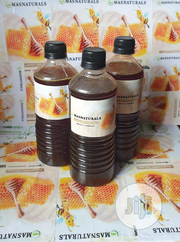 Pure Undiluted Bee Honey(From Nsukka)500ml 100%RAW Wholesale
