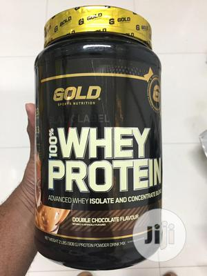 Gold Sports Black Label 100% Whey Protein | Chocolate Flavor | Meals & Drinks for sale in Abuja (FCT) State, Wuse 2