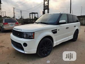 Land Rover Range Rover Sport 2008 4.2 V8 SC White   Cars for sale in Lagos State, Ikeja