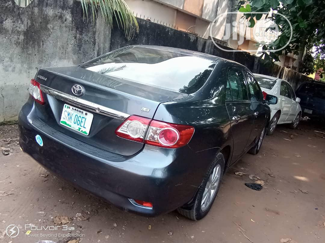 Toyota Corolla 2013 Gray | Cars for sale in Egbe Idimu, Lagos State, Nigeria