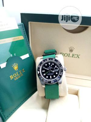 Rolex New Designer Leather Wrist Watch Good Quality | Watches for sale in Lagos State, Lagos Island (Eko)