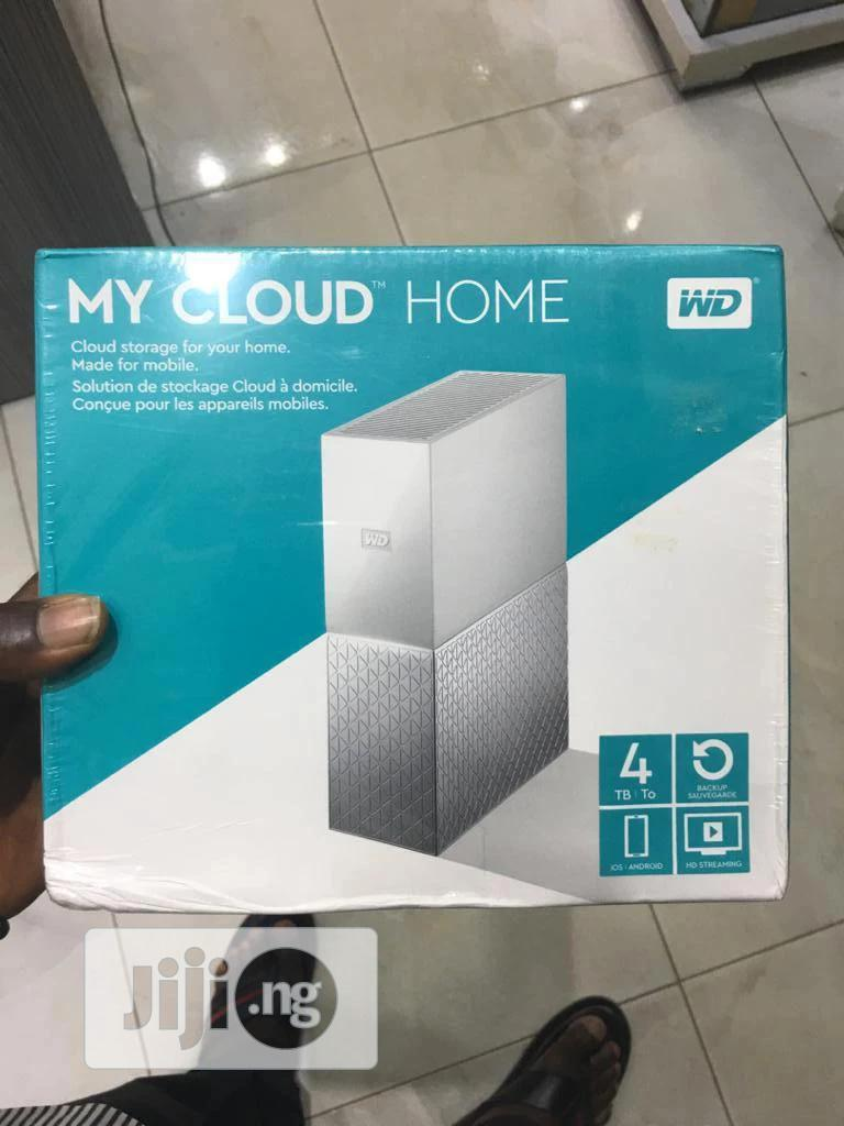 WD My Cloud Home 4TB Cloud Storage