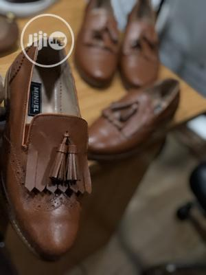 Golden Brown Loafers With Flap   Shoes for sale in Lagos State, Mushin