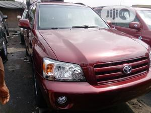 Toyota Highlander 2006 Limited V6 4x4 Red | Cars for sale in Lagos State, Apapa