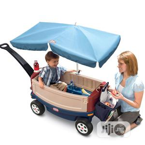 Little Tikes Deluxe Ride & Relax Wagon With Umbrella | Toys for sale in Lagos State, Ajah
