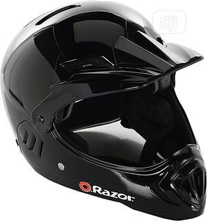 Razor Black Cherry Full-faced Bmx Helmet | Sports Equipment for sale in Lagos State, Ajah