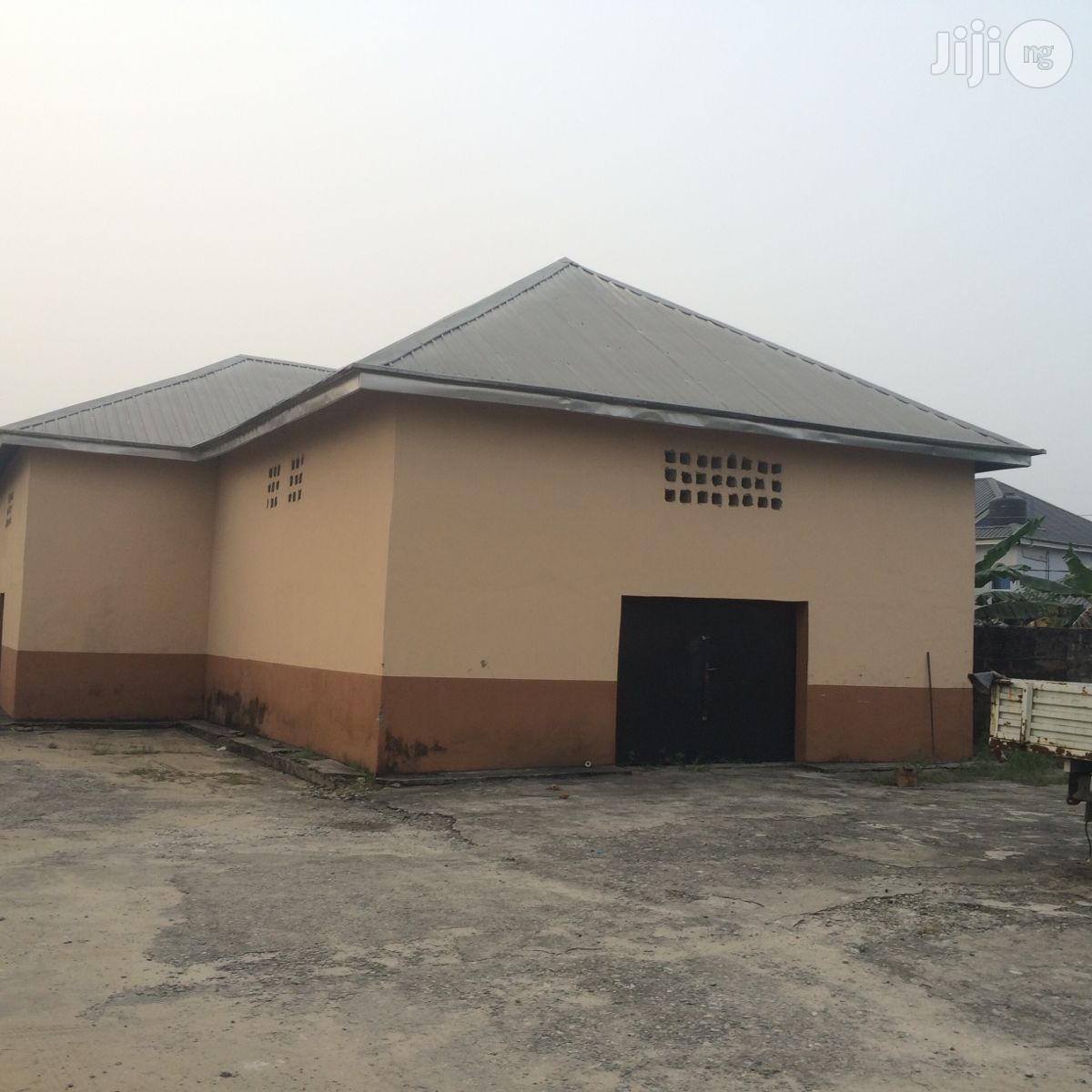 Warehouse In A Six Plot Of Land And A High Secured Place