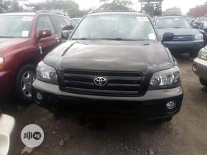 Toyota Highlander 2006 Limited V6 4x4 Black | Cars for sale in Lagos State, Amuwo-Odofin