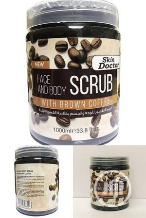 Doctor Skin Face & Body Scrub With Brown Coffee. 1000ml   Skin Care for sale in Lagos State, Apapa