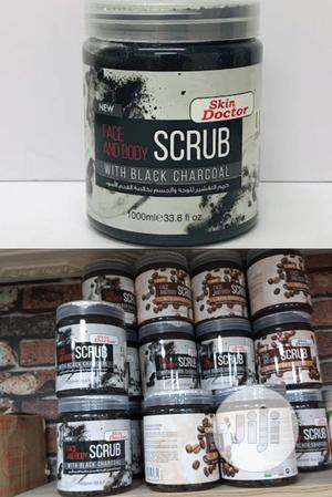 Skin Doctor Face & Body Scrub With Black Charcoal. 1000ml   Skin Care for sale in Lagos State, Apapa