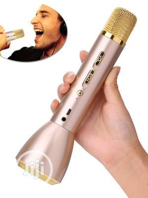 Bluetooth Karaoke Microphone Machine With Inbuilt Speaker   Audio & Music Equipment for sale in Lagos State, Ikeja