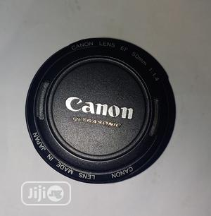 Newly Arrived Canon 50mm F1.4 USM Lens Plus Hood   Accessories & Supplies for Electronics for sale in Lagos State, Ojo